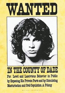 Jim Morrison Doors Wanted large fabric poster/ flag 1100mm x 750mm  (hr)